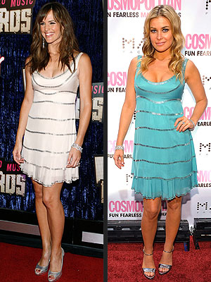JENNIFER VS. CARMEN photo | Carmen Electra, Jennifer Garner