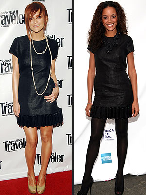 ASHLEE VS. SELITA photo | Ashlee Simpson, Selita Ebanks