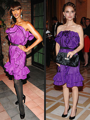 IMAN VS. NATALIE photo | Iman, Natalie Portman