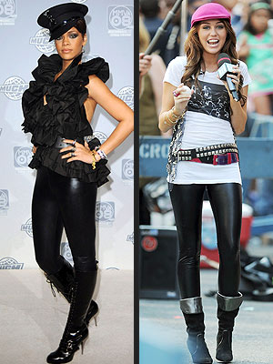 RIHANNA VS. MILEY  photo | Miley Cyrus, Rihanna