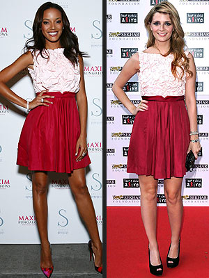 SELITA VS. MISCHA photo | Mischa Barton, Selita Ebanks