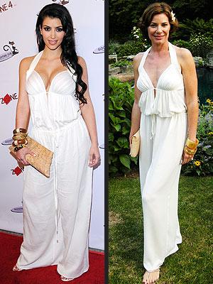KIM VS. COUNTESS LUANN photo | Kim Kardashian