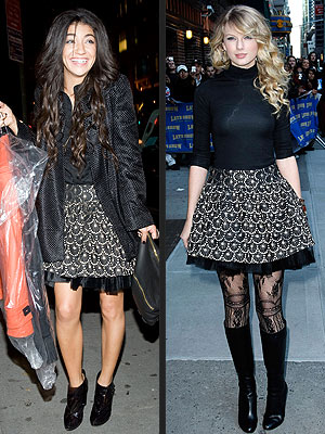 JESSICA VS. TAYLOR photo | Jessica Szohr, Taylor Swift