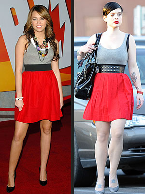 MILEY VS. KELLY photo | Kelly Osbourne, Miley Cyrus