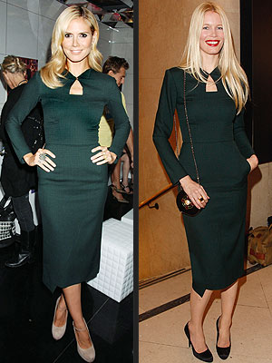 HEIDI VS. CLAUDIA photo | Claudia Schiffer, Heidi Klum