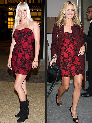 ANNA VS. HEIDI photo | Anna Faris, Heidi Klum