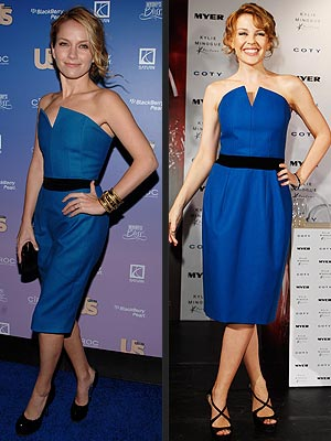 BECKI VS. KYLIE photo | Becki Newton, Kylie Minogue