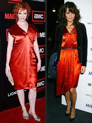 CHRISTINA VS. HELENA photo | Christina Hendricks, Helena Christensen