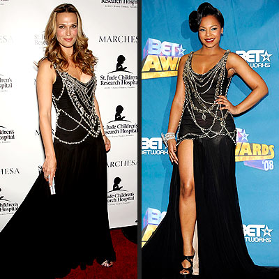 MOLLY VS. ASHANTI photo | Ashanti, Molly Sims