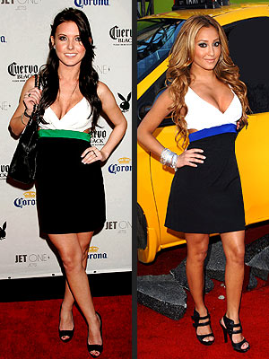 AUDRINA VS. ADRIENNE photo | Adrienne Bailon, Audrina Patridge
