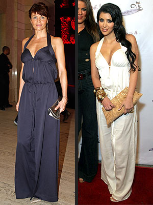 HELENA VS. KIM photo | Helena Christensen, Kim Kardashian