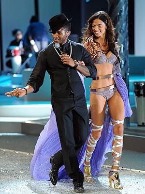 BEAUTY AND THE BEAT  photo   Adriana Lima, Usher