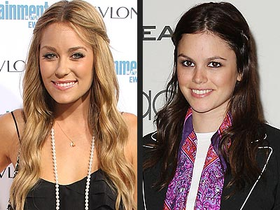 HALF UP, HALF DOWN DO photo | Lauren Conrad, Rachel Bilson