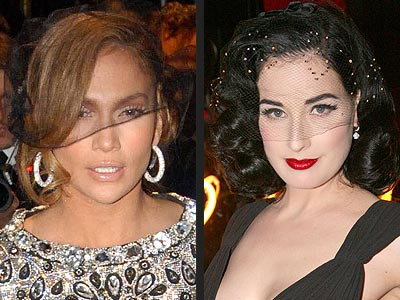 VEILS photo | Dita Von Teese, Jennifer Lopez