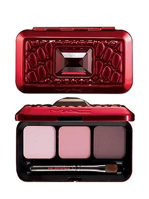 Beauty Picks - M.A.C PASSIONS OF RED LIP TRIO : People.com :  layering red makeup passions