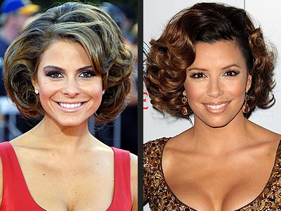 BOUFFANT BOB photo | Eva Longoria, Maria Menounos