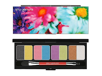 Beauty Picks - SHU UEMURA MIKA HOLIDAY SHADOW PALETTE : People.com :  mika style lipstick people