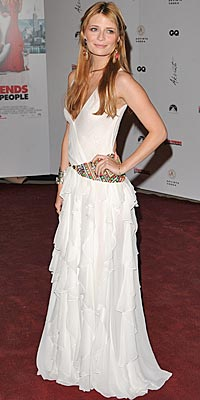 Cannes Film Festival:`MISCHA BARTON wearing Matthew Williamson