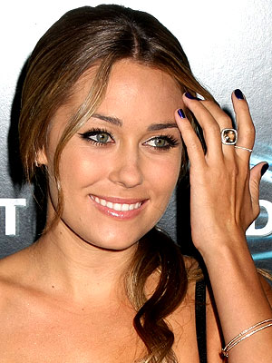 PURPLE NAILS  photo | Lauren Conrad