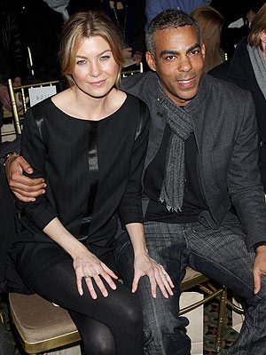 ELLEN POMPEO AND CHRIS IVERY photo | Ellen Pompeo