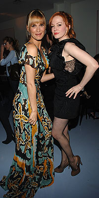 MOLLY SIMS & ROSE MCGOWAN  photo | Molly Sims, Rose McGowan