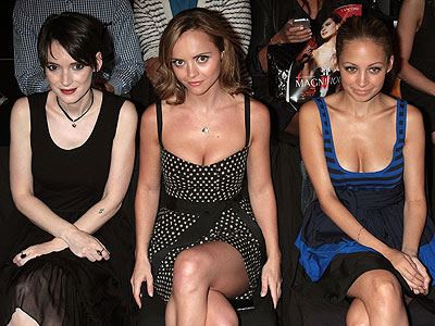 WINONA RYDER, CHRISTINA RICCI AND NICOLE RICHIE  photo | Christina Ricci, Nicole Richie, Winona Ryder