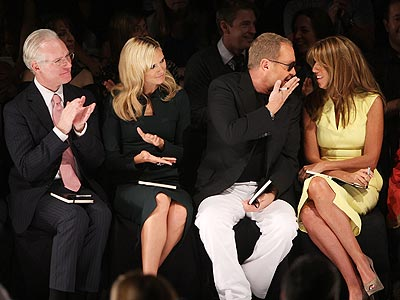 TIM, HEIDI, MICHAEL AND NINA  photo | Tim Gunn