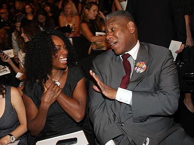 VENUS WILLIAMS AND ANDRE LEON TALLEY  photo | Venus Williams