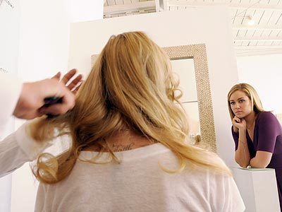 GETTING HAIRY  photo | Lauren Conrad