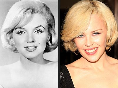 BLONDE AMBITION photo | Kylie Minogue, Marilyn Monroe