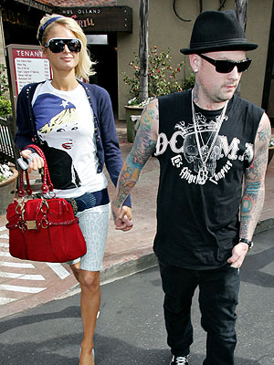 TWICE AS NICE photo | Benji Madden, Paris Hilton