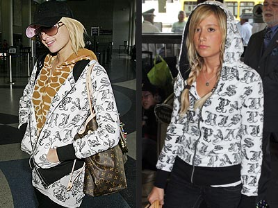 PARIS VS. ASHLEY photo | Ashley Tisdale, Paris Hilton