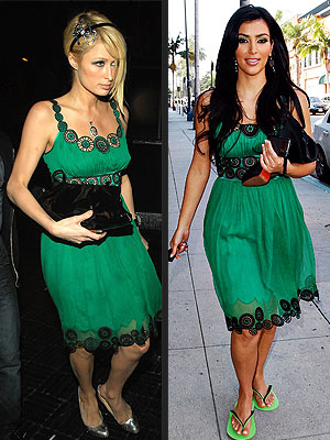 PARIS VS. KIM photo | Kim Kardashian, Paris Hilton