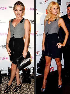 BECKI VS. PARIS photo | Becki Newton, Paris Hilton