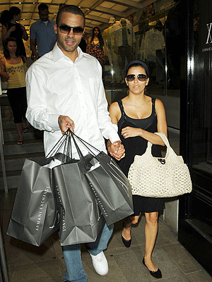 ARMANI EXCHANGE photo | Eva Longoria-Parker, Tony Parker