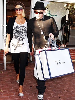 RON HERMAN photo | Benji Madden, Paris Hilton