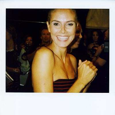 PUMPED UP  photo | Heidi Klum