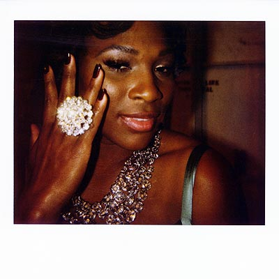 BLING'S THE THING  photo | Serena Williams