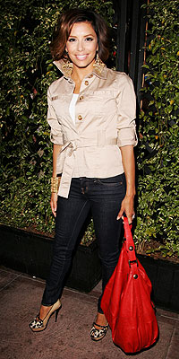 EVA&#39;S $40 JACKET photo | Eva Longoria