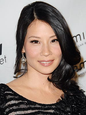 latest asian hairstyles. Lucy Liu Latest Asian