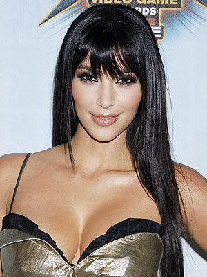 pictures of kim kardashians hair. KIM KARDASHIAN photo | Kim