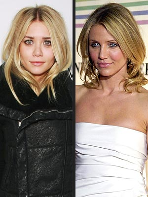 CLEAR GLOSS photo | Ashley Olsen, Cameron Diaz