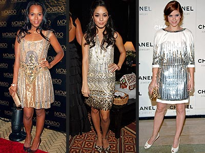 DECO SEQUINS  photo | Kate Mara, Kerry Washington, Vanessa Hudgens