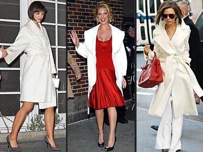 WHITE WRAP COATS  photo |