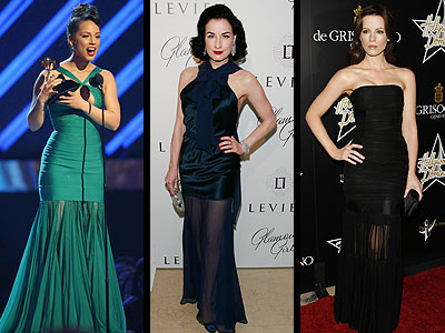 SHEER HEM GOWNS photo | Alicia Keys, Dita Von Teese, Kate Beckinsale