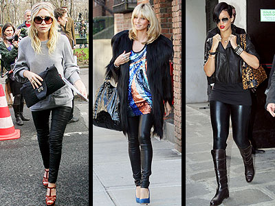 LATEX LEGGINGS photo | Emanuel Ungaro, Heidi Klum, Rihanna