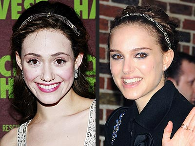 JEWELED HEADBANDS photo | Emmy Rossum, Natalie Portman