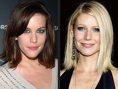 SLEEK BOBS  photo | Gwyneth Paltrow, Liv Tyler