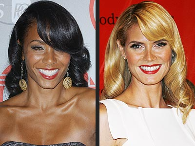 RETRO WAVES photo | Heidi Klum, Jada Pinkett Smith