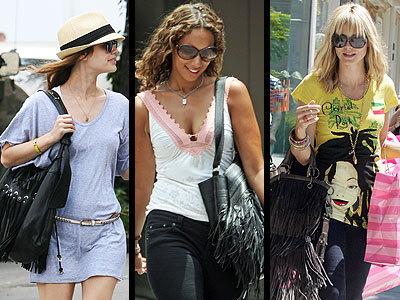 FRINGED PURSES photo | Heidi Klum, Leona Lewis, Rachel Bilson